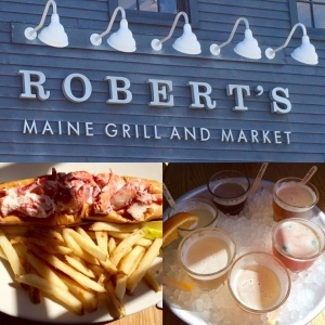 Can't go wrong with lobster & beer.